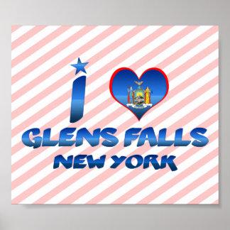 I love Glens Falls, New York Poster