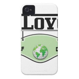 I Love Glof Day iPhone 4 Covers