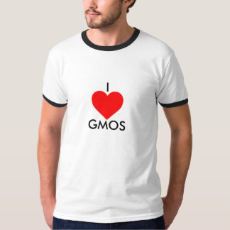 I LOVE GMOS: Reality Awareness T-Shirt