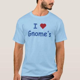 I Love Gnome's T-Shirt