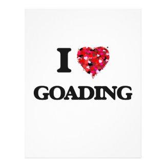 I Love Goading Full Colour Flyer