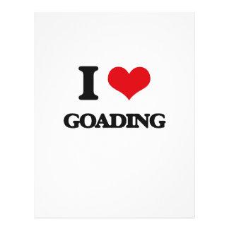 I love Goading Flyer
