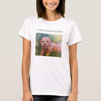 I love Goldendoodles T shirt