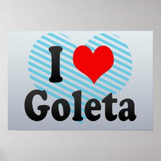I Love Goleta, United States Poster