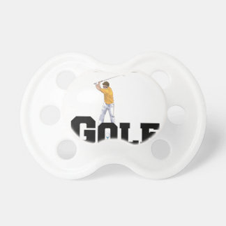 I Love Golf 01 Baby Pacifier