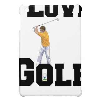 I Love Golf 01 iPad Mini Cases