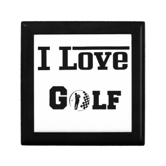 I Love Golf 2 Gift Box