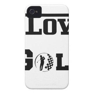 I Love Golf 2 iPhone 4 Case-Mate Case