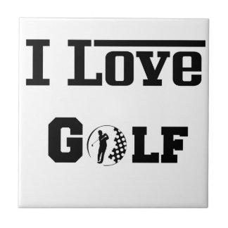 I Love Golf 2 Tile