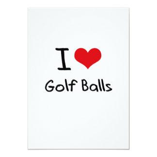 I Love Golf Balls Invite