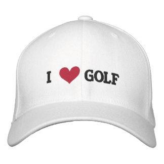'I LOVE GOLF' BASEBALL CAP - Customized