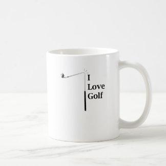 I Love Golf Coffee Mug