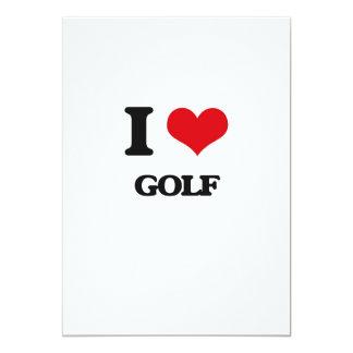 I Love Golf Invitations