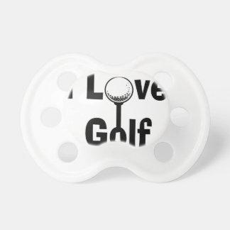 I Love Golf Pacifier