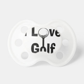 I Love Golf Pacifiers