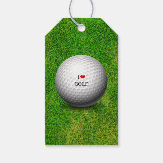 I Love Golf Pack Of Gift Tags