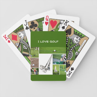 I love Golf playing cards