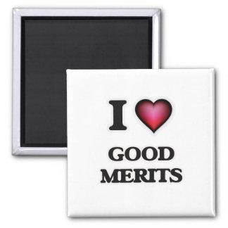 I love Good Merits Magnet