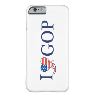 I Love GOP 'Barely There' iPhone 6 White Case