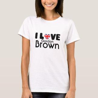 I love Gordon Brown  | T-shirt