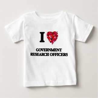 I love Government Research Officers Shirt