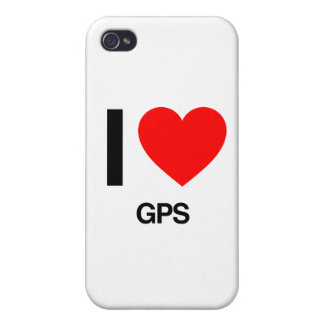i love gps iPhone 4 cover