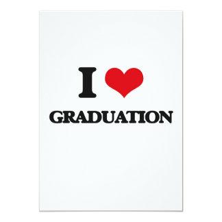 I love Graduation Card