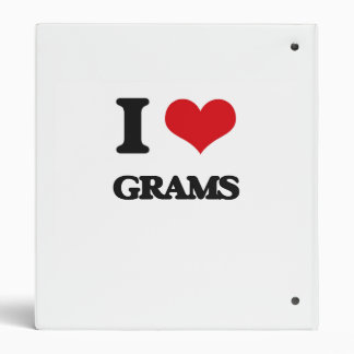 I love Grams Binder