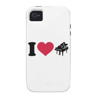I love grand piano iPhone 4 cases
