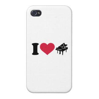 I love grand piano iPhone 4/4S case