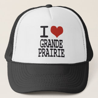 I love Grande Prairie Trucker Hat