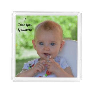 I LOVE GRANDMA- ACRYLIC TRAY