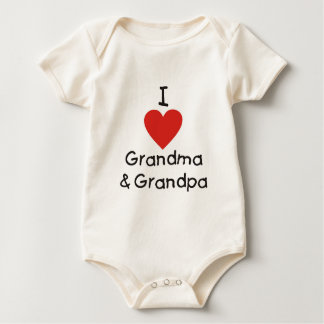 I Love Grandma & Grandpa Bodysuit