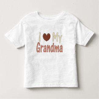 I Love GrandMa Toddler T-Shirt