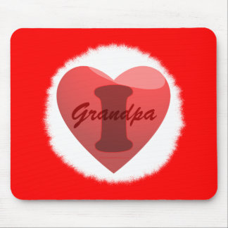 I love Grandpa Mouse Pad