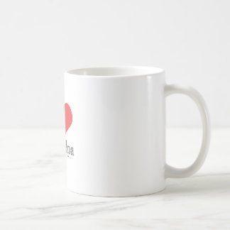 i love grandpa basic white mug