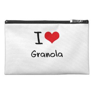 I Love Granola Travel Accessory Bag