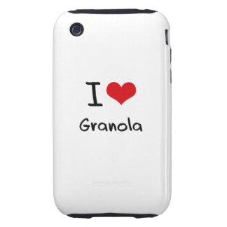 I Love Granola iPhone 3 Tough Cover