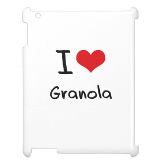 I Love Granola Cover For The iPad 2 3 4