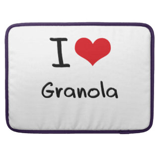 I Love Granola Sleeves For MacBook Pro