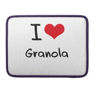 I Love Granola Sleeves For MacBook Pro