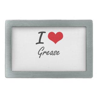 I love Grease Belt Buckle