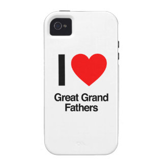 i love great grand fathers vibe iPhone 4 cases