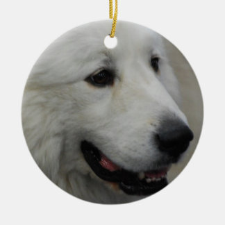 I Love Great Pyrenees Ornament