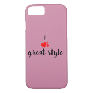 I love great style Iphone case