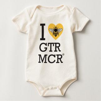 I love Greater Manchester Baby Bodysuit