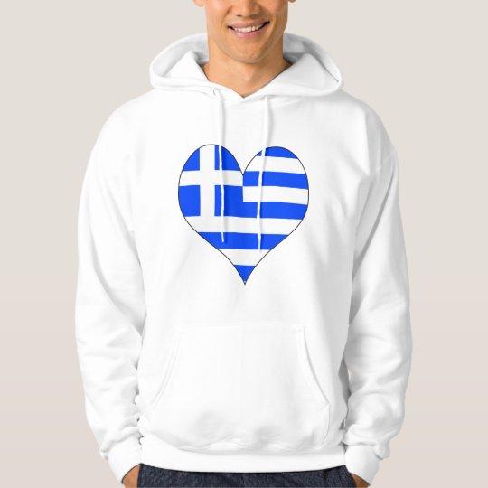 I Love Greece Hoodie
