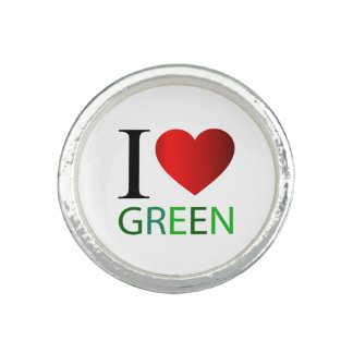 I love green photo ring