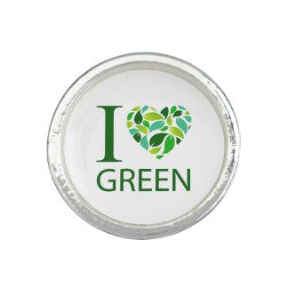 I love green ring