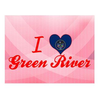 I Love Green River, Utah Postcard